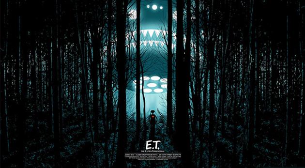 Affiche E.T