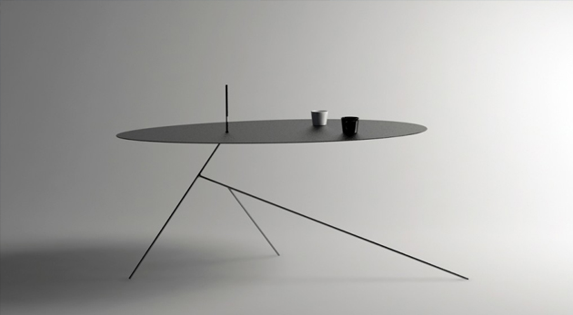 trois designs    trois tables  u2013 comart design