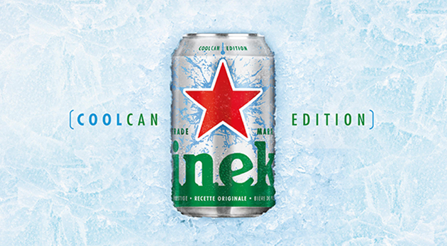 packaging canette Heineken