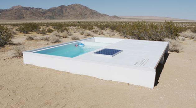 piscine désert Californie