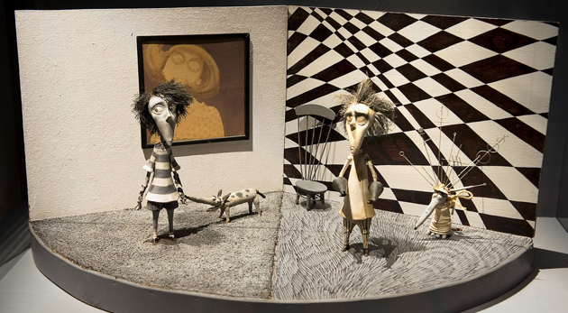 Tim Burton exposition