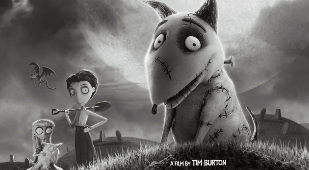 animation 3D - affiche Tim Burton