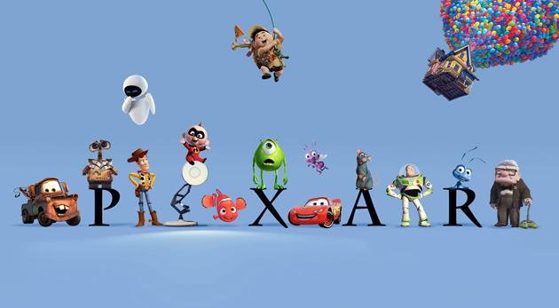 Pixar personnages
