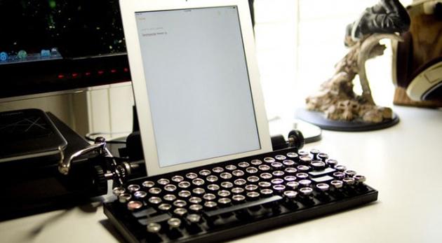 clavier vintage Qwerkywriter