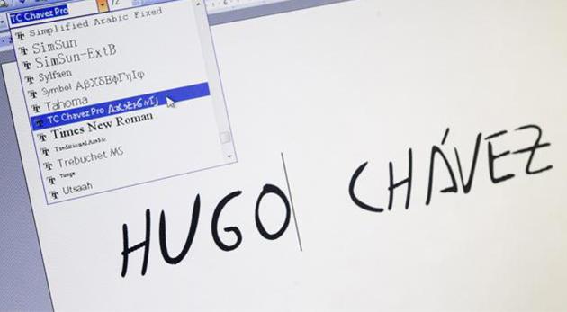 typographie Chavez pro