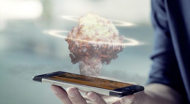 impression hologramme smartphone