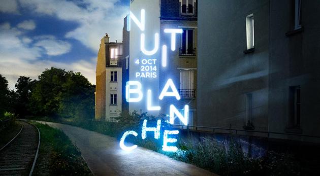 visuel Nuit Blanche Paris