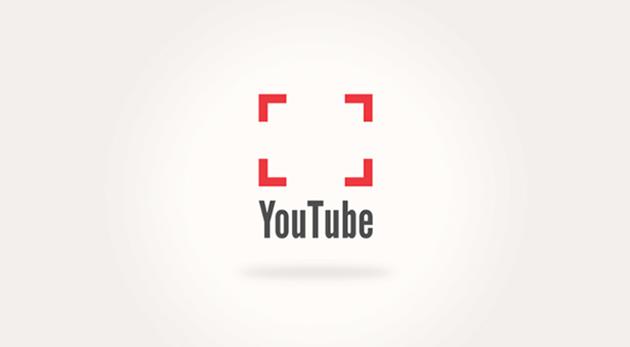 Aperçu de la refonte fictive du logo de Youtube