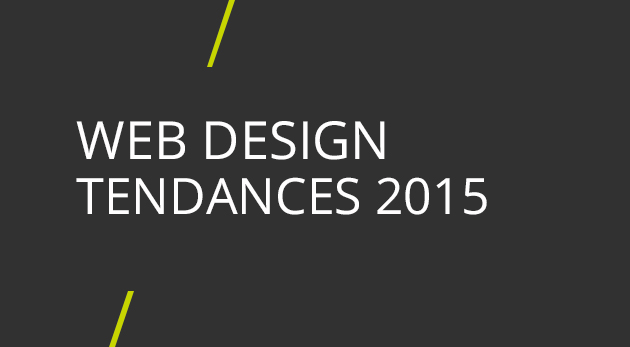 tendances web design 2015