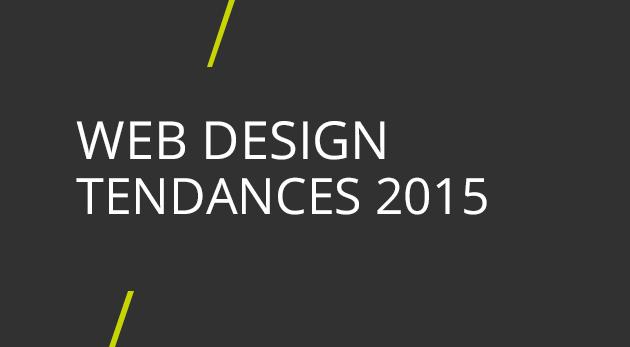 tendances web design 2015