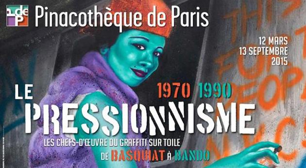 graffiti street art Pressionnisme