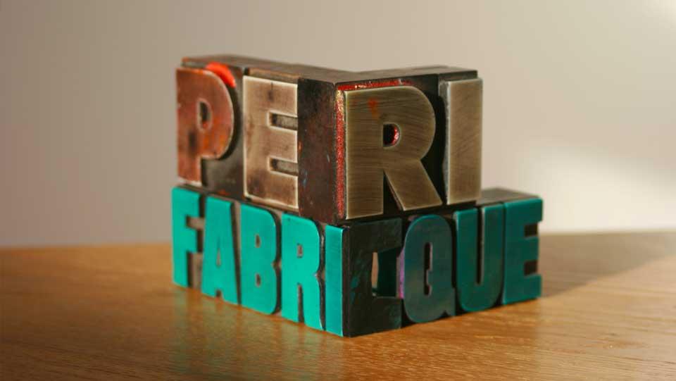périfabrique objet imprimé