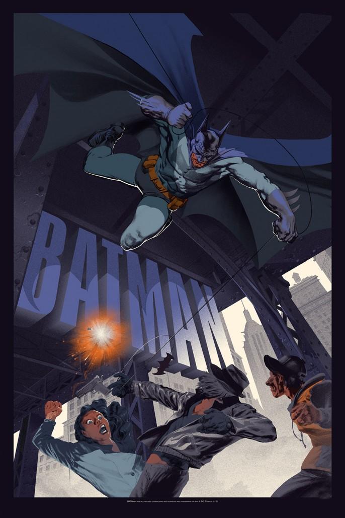 Gotham affiche Batman