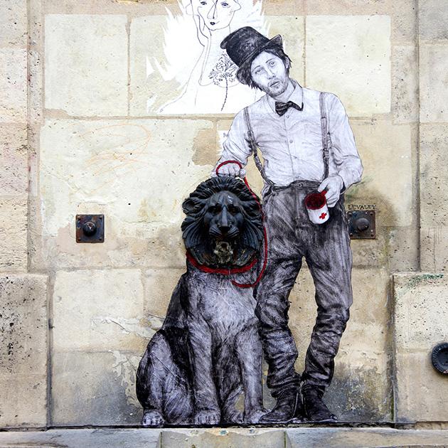 @levaletdessinderue - Banqueroute, Paris, 3ème arrondissement.