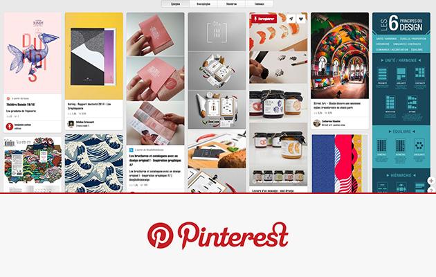 Pinterest, votre tableau d'inspirations visuelles dans la poche !