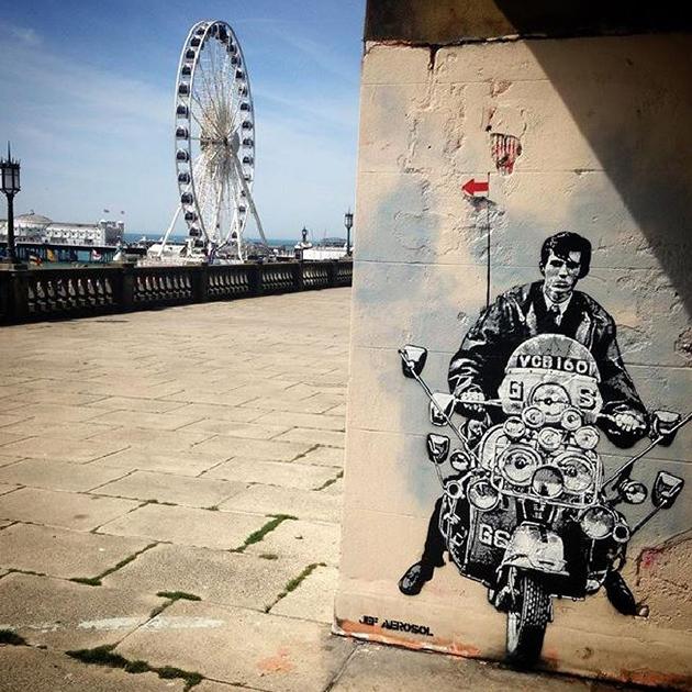 @jefaerosol - Quadrophenia, Brighton, May 2016.