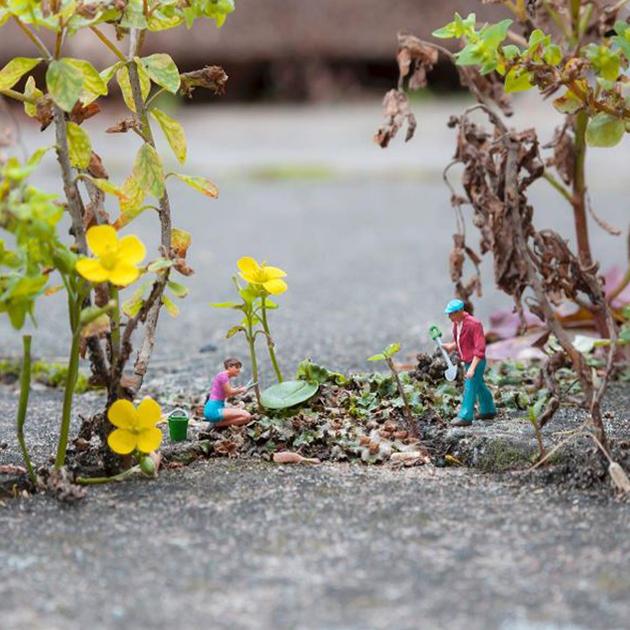 @slinkachy_official - Secret Garden