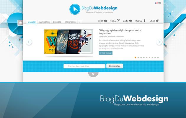 Inspirations, tutos, ressources à gogo : le blog du Webdesign est une mine de renseignements sur les dernières solutions Web.