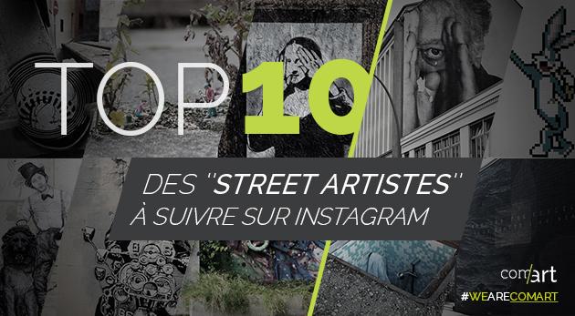 street artistes top 10 insta