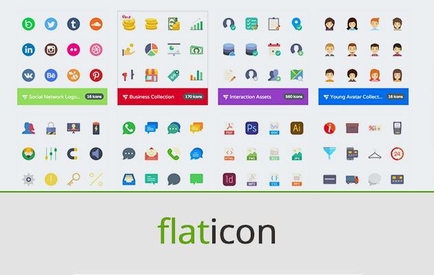 Flaticon est le site référence pour télécharger toutes les icônes de votre choix.... gratuitement !