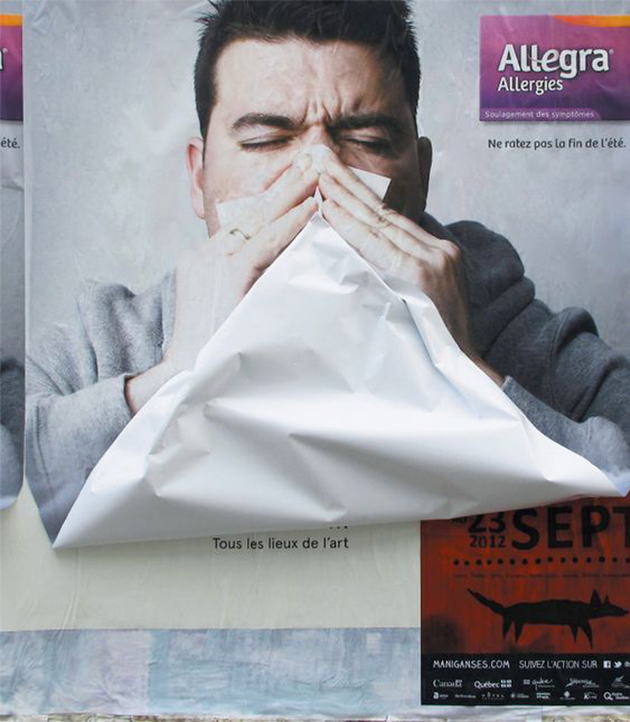 Allegra - Top 10 des publicités print - We Are Com'Art