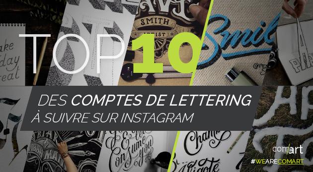 top 10des insta lettering - comart-design