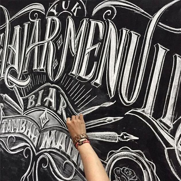 @regalisapertura - Top 10 des insta lettering