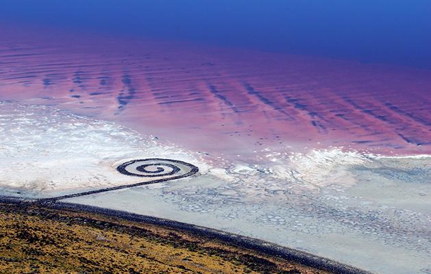 Robert Smithson - Spiral Jetty - Land Art