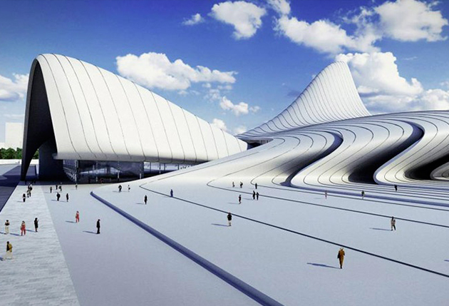 Centre culturel de Zaha Hadid - TOP 10 des architectures audacieuses - We Are Com'Art