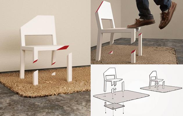 Cut Chair, Peter Bristol - Top 10 de mobilier design surprenant