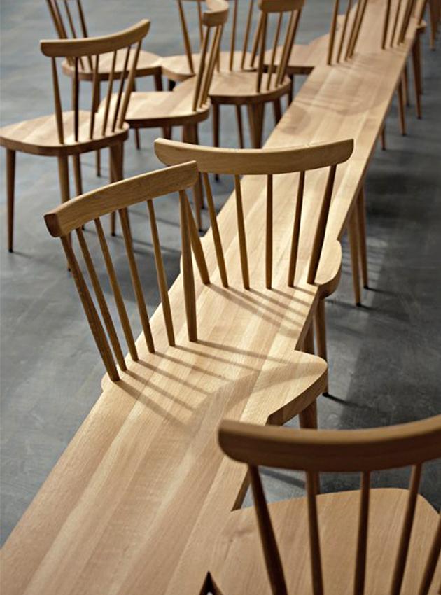 """Stuhlhockerbank, Peiz & Fehling - Top 10 de mobilier design surprenant"