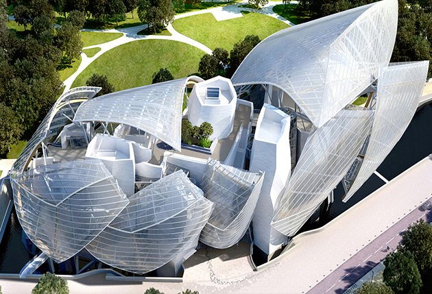 Fondation Louis Vuitton - TOP 10 des architectures audacieuses - We Are Com'Art