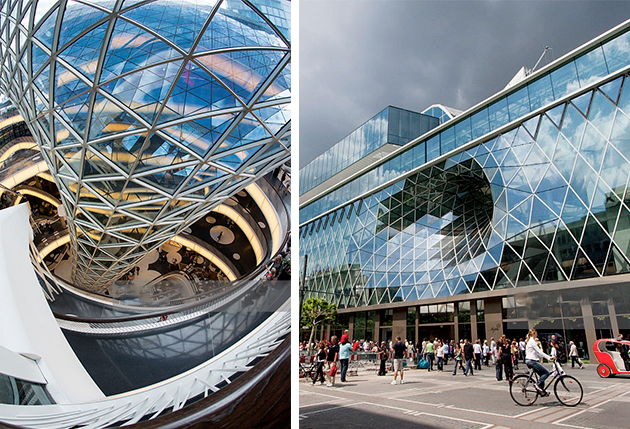 Centre commercial Myzeil - TOP 10 des architectures audacieuses - We Are Com'Art