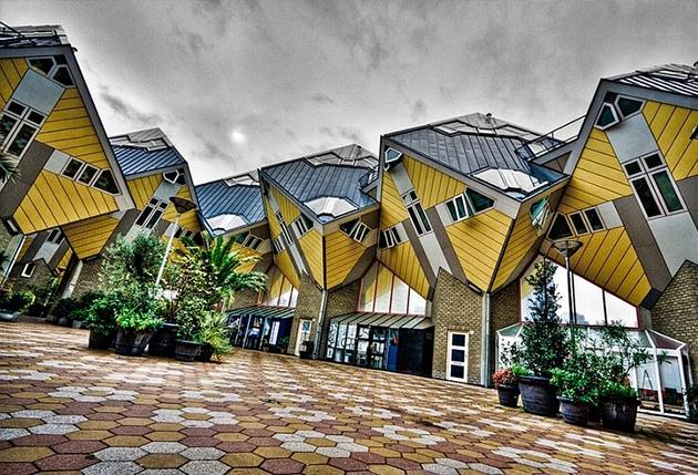 Les maisons cubiques de Rotterdam - TOP 10 des architectures audacieuses - We Are Com'Art