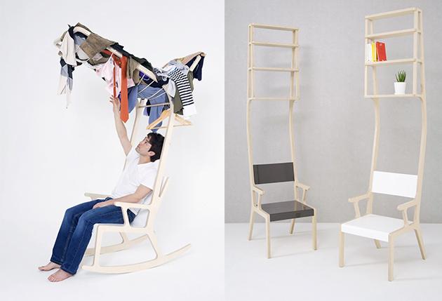 Chaise multi-fonction, Seung Yong Song - Top 10 de mobilier design surprenant