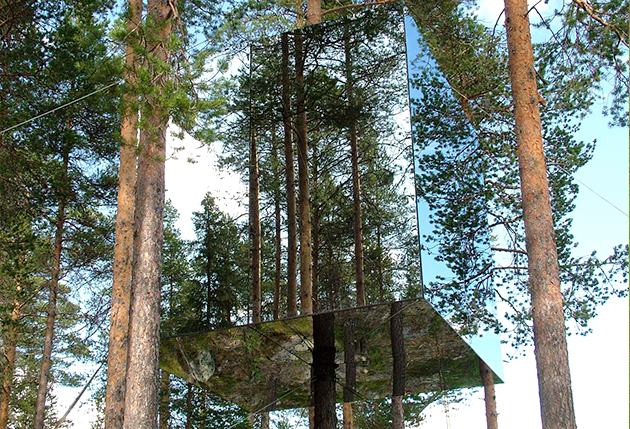 Tree hotel de BolleTham & Videgård Arkitekter - TOP 10 des architectures audacieuses - We Are Com'Art