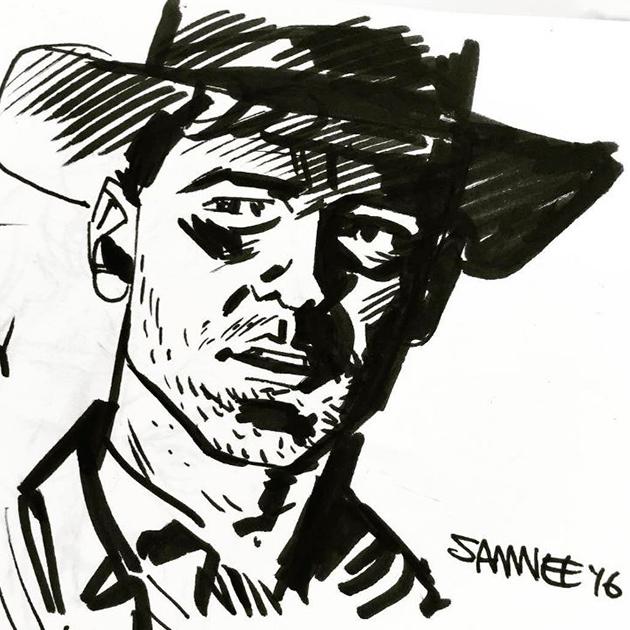 Chris Samnee est un dessinateur de comics incontournable sur Instagram - Top 10 des illustrateurs à suivre sur Instagram