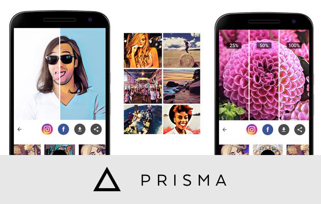 Prisma est l'une de ces applications qui permettent de laisser libre cours à son imagination ! Transformez vos photos mobile en oeuvres issues des grands courants de la peinture !