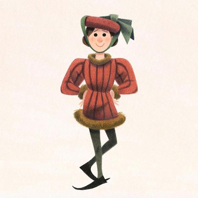 Genevieve Godbout (rosesapetitspois) est une artiste canadienne à découvrir sur Instagram - Top 10 des illustrateurs à suivre sur Instagram