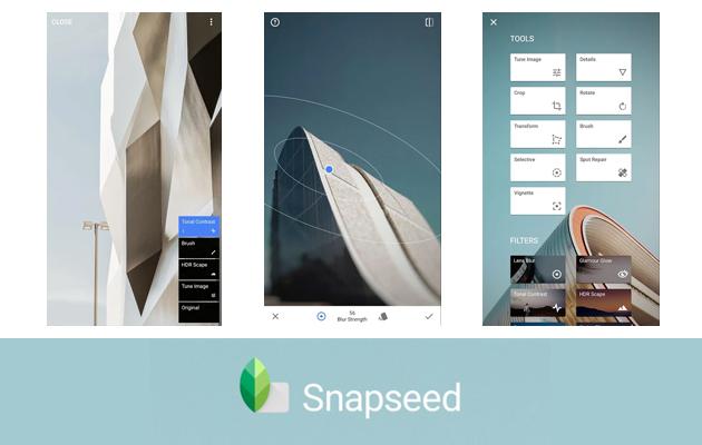Snapseed est l'une des applications favorites des fans de photos grâce à ses nombreuses fonctionnalités et sa prise en charge du format RAW.