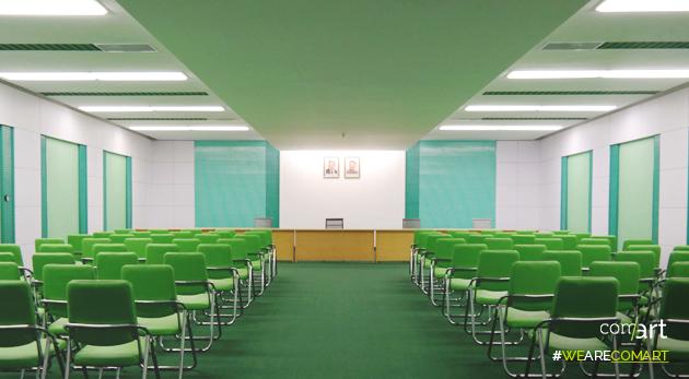Oliver Wainwright vous fait découvrir l'architecture étonnamment colorée des batiments nord-coréens