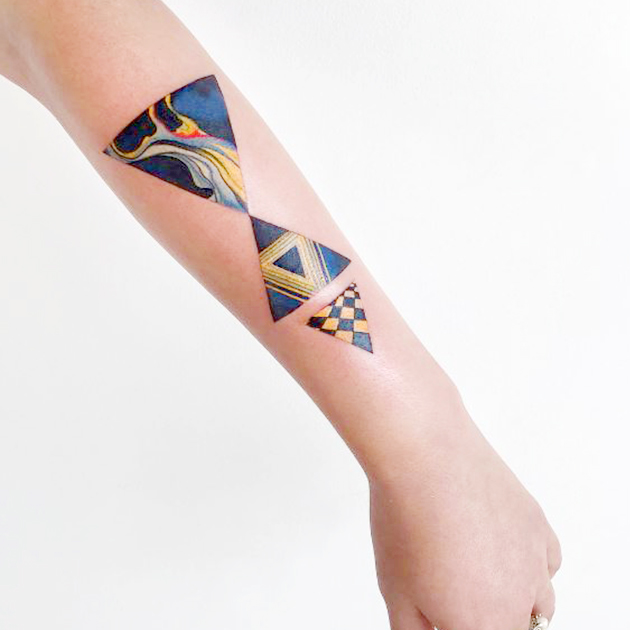 Amanda Wachob est l'une des tatoueuses à suivre obligatoirement sur Instagram