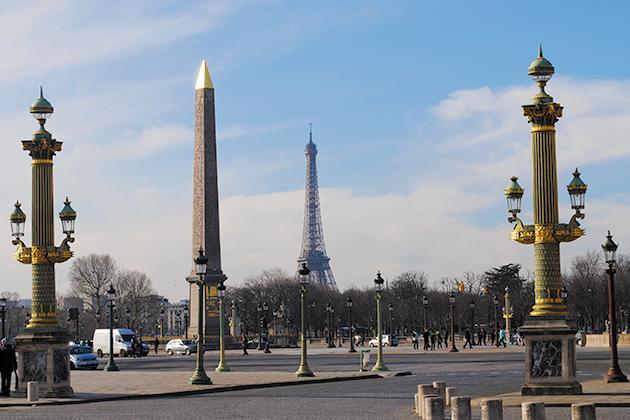 L'Obélisque de la place de la Concorde