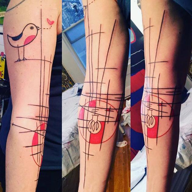Foncez voir les tatouages de Yann Black sur Instagram