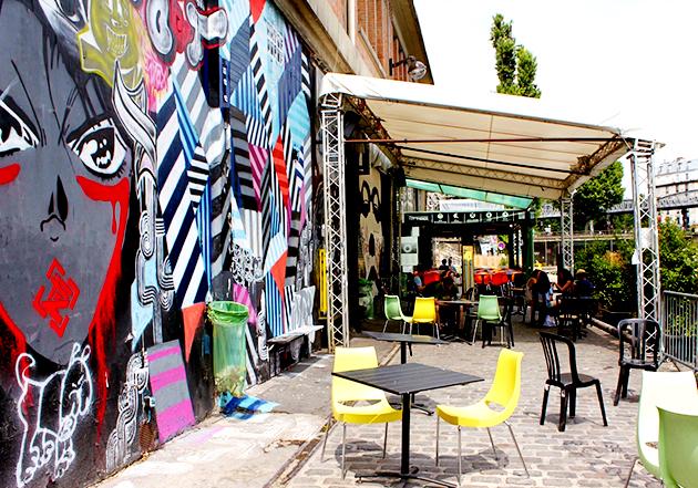 Le Point Ephémère, un endroit incontournable pour les amoureux de street art