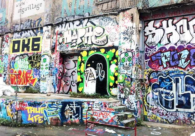 Les Frigos est le plus ancien spot de street art parisien