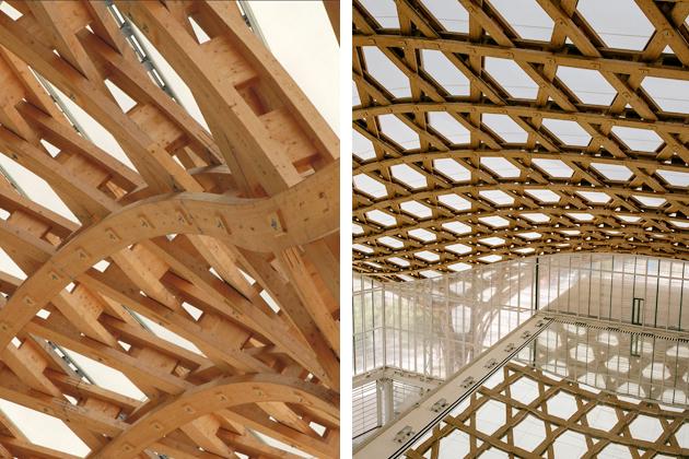 Le centre Pompidou de Metz par l'architecte Shigeru Ban est un véritable bijoux de créativité