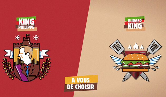 école de communication campagne burgerking - comart-design
