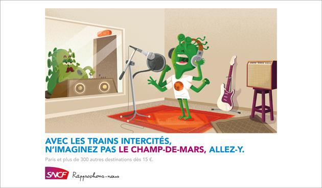 Publicité Champs-de-Mars