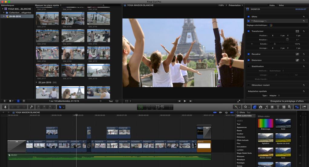 Les métiers de la vidéo